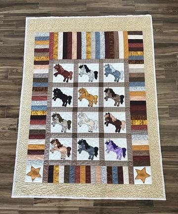 Linda's Horse Quilt