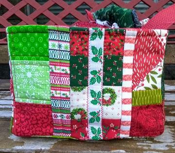 Side C Christmas Box by Sharon @ Ms P Designs USA