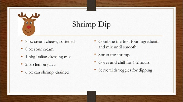 Shrimp Dip Recipe by Ms P Designs USA