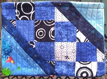 Blue Scrappy Basket A by Sharon @ Ms P Designs USA