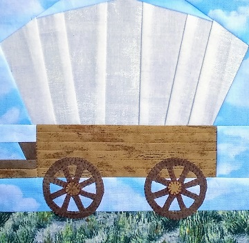 Conestoga Wagon by Ms P Designs USA