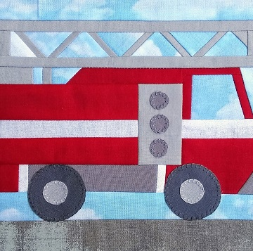 Ladder Truck 2 by Ms P Designs USA