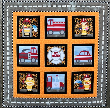 My Hero Firefighters by Ms P Designs USA