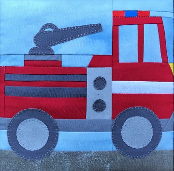 Pumper Fire Truck by Ms P Designs USA