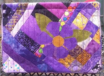 Purple Scrappy Basket A by Sharon @ Ms P Designs USA