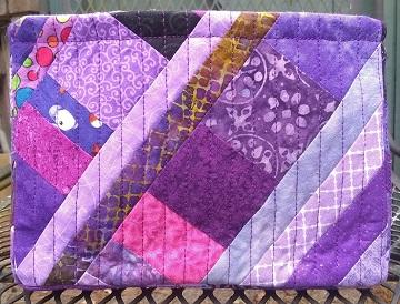 Purple Scrappy Basket B by Sharon @ Ms P Designs USA