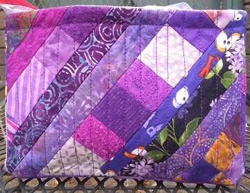 Purple Scrappy Basket C by Sharon @ Ms P Designs USA