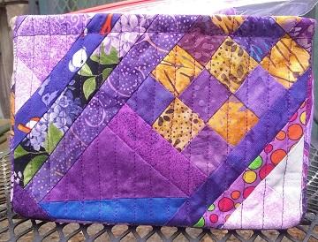 Purple Scrappy Basket D by Sharon @ Ms P Designs USA