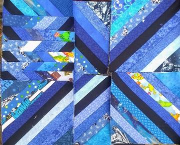 April String blocks by Sharon @ Ms P Designs USA