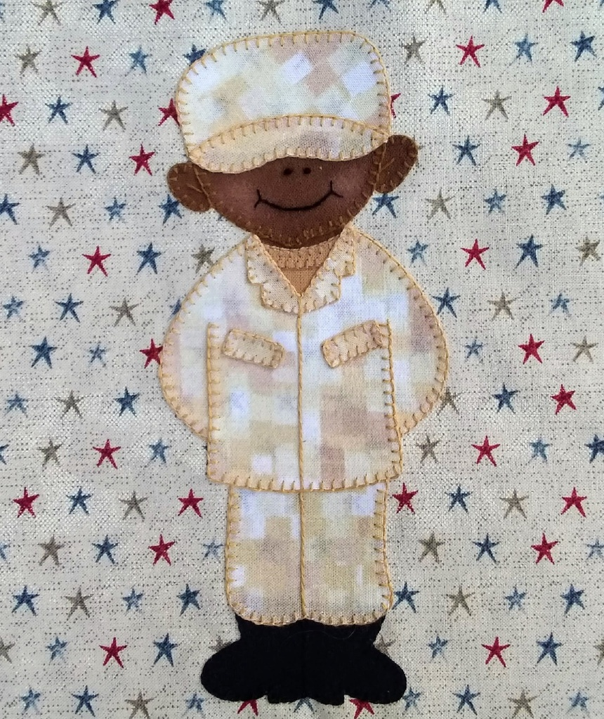 Army Enlisted Man 1 by Ms P Designs USA