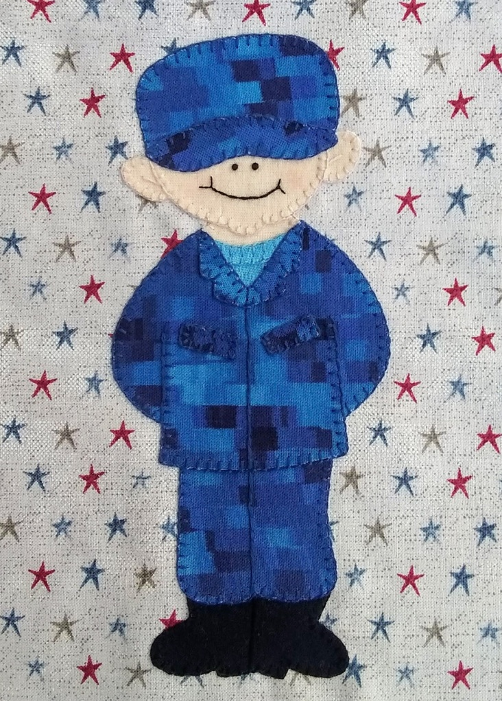 Army Enlisted Man 2 by Ms P Designs USA