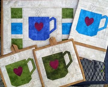 Coffee Kitchen Set by Ms P Designs USA