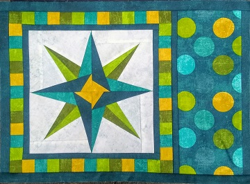 Mariner's Compass Place Mat by Ms P
