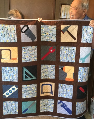 Tool Quilt by Jenny H