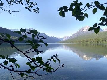 Bowman Lake Montana by Sharon @ Ms P Designs USA