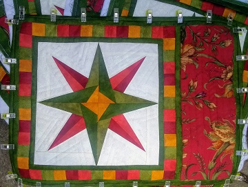 Mariner's Compass Place Mats by Ms P Designs USA