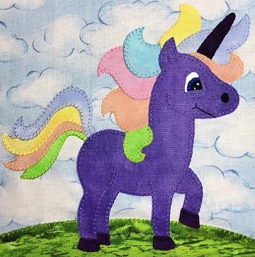 Unicorn by Ms P Designs USA