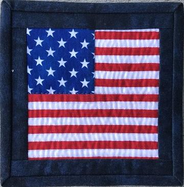 USA Flag by Ms P Designs USA