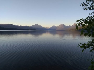 View of Lake McDonald from Apgar Montana by Sharon @ Ms P Designs USA