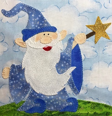 Wizard by Ms P Designs USA