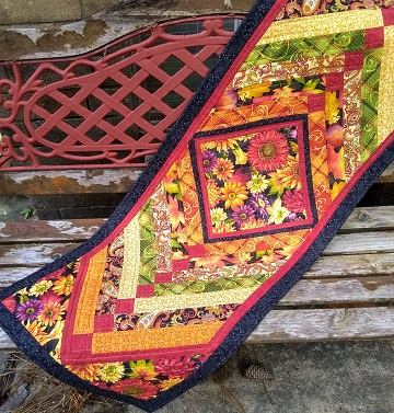 Autumn Table Runner A by Sharon @ Ms P Designs USA