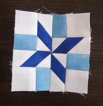 Snowflake Miniature Block by Ms P Designs USA