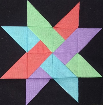 21 Woven Star by Ms P Designs USA