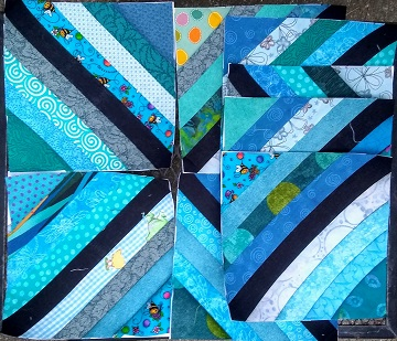 August string blocks by Sharon @ Ms P Designs USA