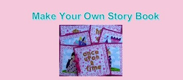 Make Your Own Story Book Tutorial by Ms P Designs USA