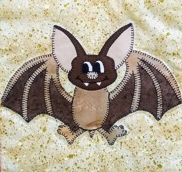 Mexican Free-tailed Bat by Ms P Designs USA