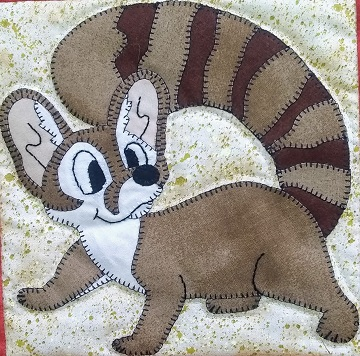 Ring-tailed Cat by Ms P Designs USA