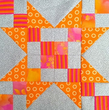 September Sawtooth Star A by Sharon @ Ms P Designs USA