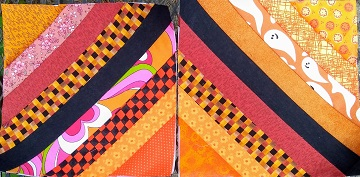 September String Blocks by Sharon @ Ms P Designs USA