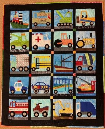 Vehicle Quilt by Carol B